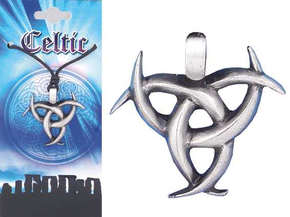 CELTIC Tribal Pewter Pendant